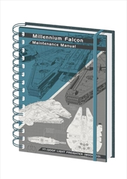 Millennium Falcon A5 Notebook