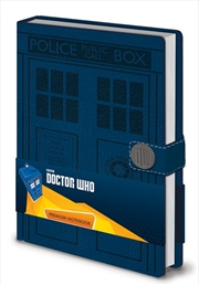 Tardis A5 Notebook