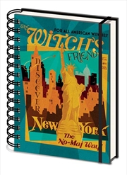 Witchs Friend A5 Notebook