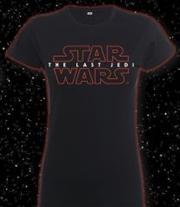 Last Jedi Logo Womens 8 | Apparel