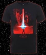 Last Jedi Poster Black Uni Xl | Apparel
