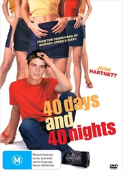 40 Days And 40 Nights | DVD