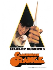 A Clockwork Orange Knife Tin Sign | Merchandise