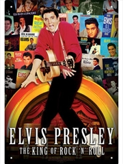 Elvis Albums Collage