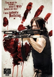The Walking Dead Daryl Bloody Hand