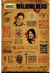 The Walking Dead Infographic | Merchandise