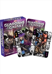Marvel Guardians of the Galaxy Comics Playing Cards