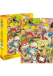 Nickelodeon Cast 1000 Piece Puzzle | Merchandise