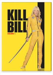 Kill Bill One-Sheet Flat Magnet