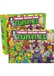 Teenage Mutant Ninja Turtles – Cast 500pc Puzzle | Merchandise