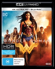 Wonder Woman | Blu-ray + UHD + UV