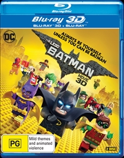 LEGO Batman Movie | 3D + 2D Blu-ray, The (BONUS LEGO PACK)