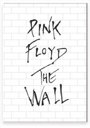 Pink Floyd The Wall Logo Flat Magnet