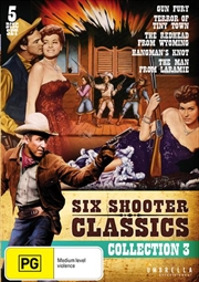Six Shooter Classics Western Collection 3