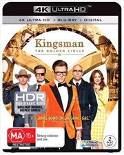 Kingsman - The Golden Circle | Blu-ray + UHD + DHD