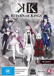 K - Return Of Kings - Season 2