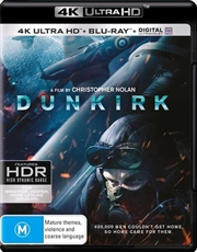 Dunkirk | Blu-ray + UHD + UV