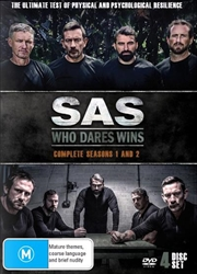 SAS - Who Dares Wins - Season 1-2 | Boxset | DVD