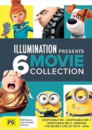 Illumination Boxset: Despicable Me Trilogy/Minions/Secret Life Of Pets/Sing