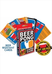 Beer Pong Card Game | Merchandise