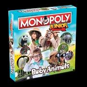 Baby Animals Monopoly Junior