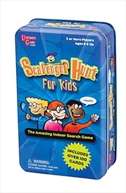 Scavenger Hunt For Kids Tin | Merchandise