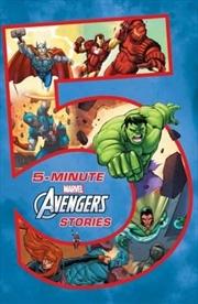 Marvel: 5-Minute Avengers Stories | Hardback Book
