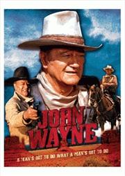 John Wayne 3D Puzzle 500pcs | Merchandise