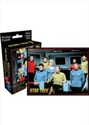 Star Trek Cast 100pc Pocket Puzzle