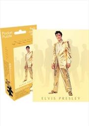 Elvis – Gold 100pc Pocket Puzzle