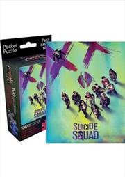Suicide Squad 100pc Pocket Puzzle