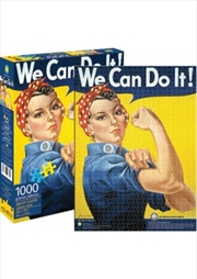 Rosie We Can Do It 1000pcs