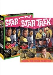 Star Trek Retro 1000pc Puzzle