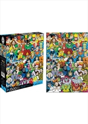 DC Comics Retro Cast 1000pcs