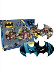DC Comics Batman Collage and Logo Double-Sided 600pcs