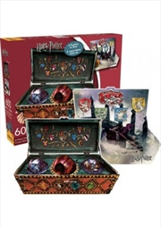 Harry Potter Quidditch Set Double Sided 600pc Puzzle | Merchandise