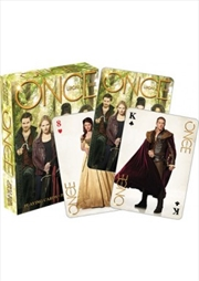 Once Upon A Time Playing Cards - Green