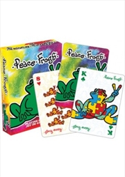 Peace Frogs Playing Cards | Merchandise