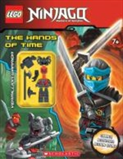 LEGO Ninjago: The Hands of TIme with minifigure | Hardback Book