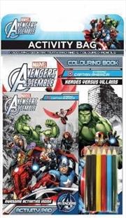 Avengers Assemble: Activity Bag (starring Captain America) | Hardback Book