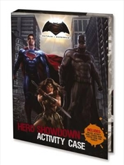 Batman v Superman Hero Showdown Activity Case | Hardback Book