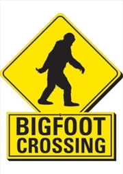 Bigfoot Crossing Chunky Magnet