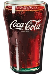 Coca-Cola Glass Chunky Magnet | Merchandise