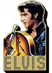 Elvis 68 Special Chunky Magnet