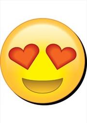 Emoji Eye Hearts Chunky Magnet