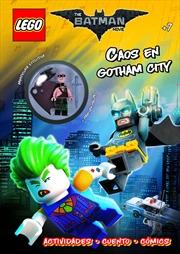 LEGO: Chao in Gotham City+ Minifigure | Hardback Book