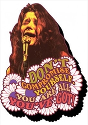 Janis Joplin All You've Got Chunky Magnet