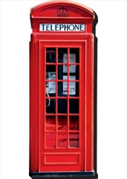 London Telephone Booth Chunky Magnet