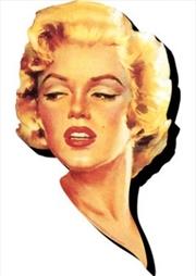 Marilyn Monroe Face Chunky Magnet