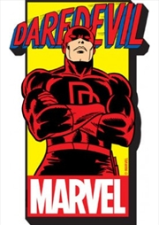 Marvel Daredevil Name Chunky Magnet